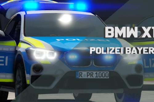 BMW X1 Polizei Bayern [ELS]
